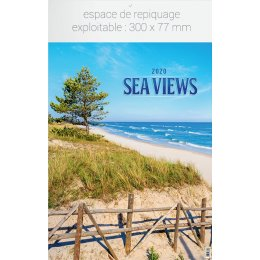 Calendrier feuillet INF SEA VIEWS