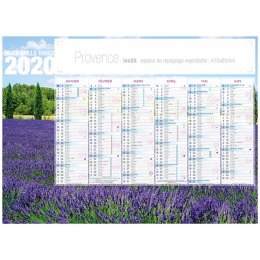 Calendrier bancaire INC55 PROVENCE
