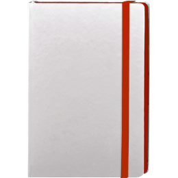 Carnet INE21 CODE WHITE COLORE ROUGE